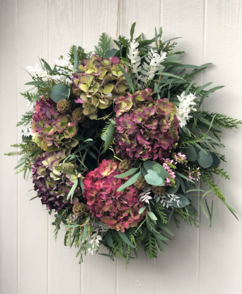 Luxury Hydrangea Wreath