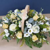 Lemon Basket Arrangement
